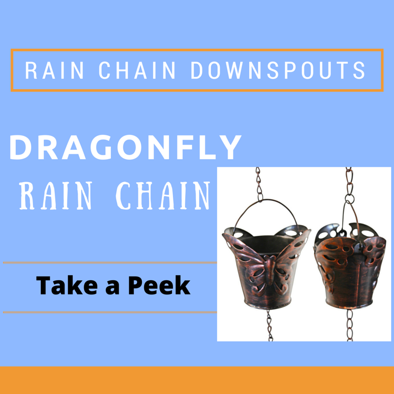 Dragonfly Rain Chains