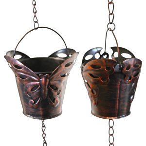 Rain Chain Dragonfly Cup
