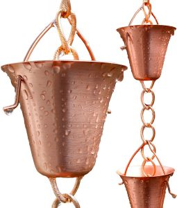Rain Chain Schoolbell Cup