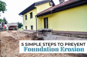 Prevent Foundation Erosion