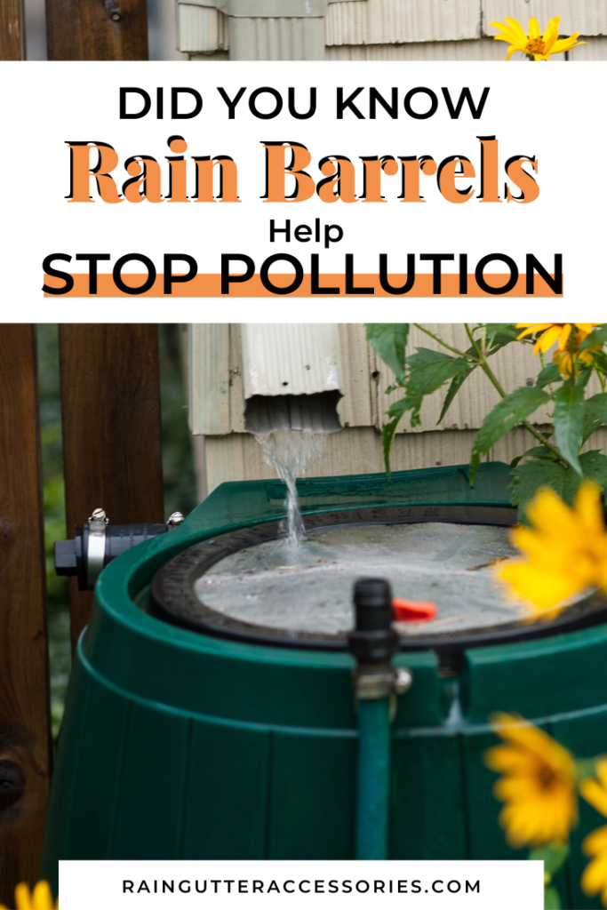 rain barrels stop pollution