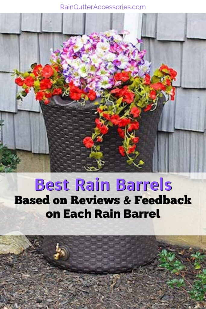 Best Rain Barrels on the market