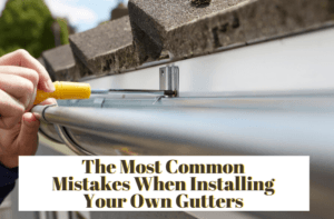 Common Mistake Installing Gutters