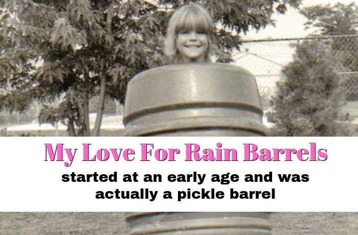 My Love for Rain Barrels