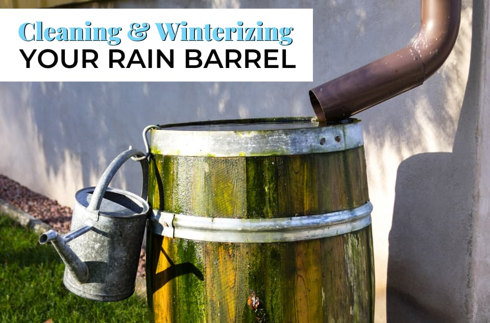 Winterizing your Rain Barrel